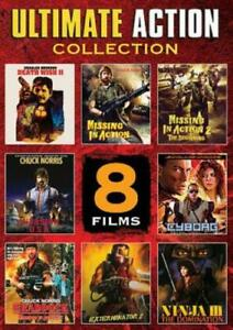 ULTIMATE ACTION COLLECTION 8 FILMS DVD Missing in Action Death Wish Chuck Norris