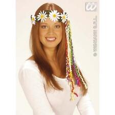Daisy Chain Headband 1970S Hippy Hippe Flower Power Fancy Dress Accessory