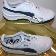Puma Special Leather/Synthetic Fashion Sneaker, White / Black, Sz 4 M - NEW