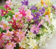 Artificial Fake Silk Daisy Flower Bouquet Home Garden Wedding Party Decoration
