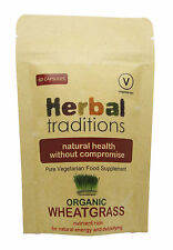 Organic Wheatgrass Supplement - 100% Vegetarian & Halal