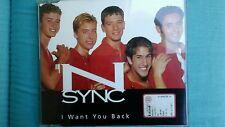 'N SYNC - I WANT YOU BACK. CD SINGOLO 4 TRACKS