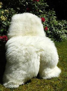 Top Giant Eco Sheepskin Type Polar Bear 140CM And Bigger! Not Stitched! Orginal