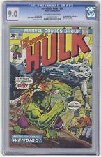 Incredible Hulk #180 CGC 9.0 HIGH GRADE Marvel Comic KEY 1st Wolverine Cameo