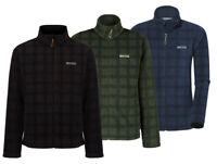 Regatta Tomkin Mens Comfortable Check print Fleece
