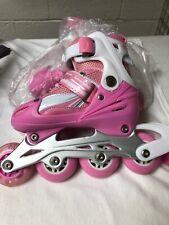 Packgout Girls Inline Skates Adjustable Rollerblades for Kids Girls31-34