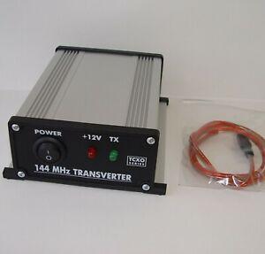 144 to 28 MHz TCXO SERIES ASSEMBLED TRANSVERTER 2meters 2m 144mhz