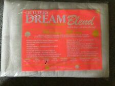 Quilters Dream Cotton Batting - Dream Blend 70/30 Twin 93 X 72 New In Package