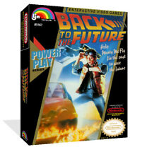 Back To The Future NES Replacement Game Case Box + Cover Art Work (No Game)