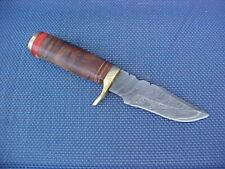 COLLECTIBLE  new PUUKKO KNIFE ,Damascus blade