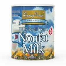 Country Cream 100 Real Instant Nonfat Powdered Milk #10 Can Survival Camping