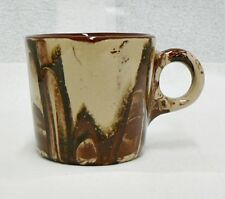 Clay Incalico Coffee Cup From Coldwaell Montana 1990