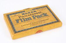 KODAK 3-1/4 X 4-1/4 PANATOMIC FILM PACK FILM IN A OPEN BOX EXP 1937/cks/194031