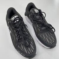 Under Armour Sz 9 Charged Rogue E4 Lace Up Running Shoe Black Charcoal NEW