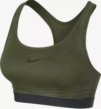 Nike Pro Hyper Classic Padded Medium Support Sports Bra 832068-331 Size XL