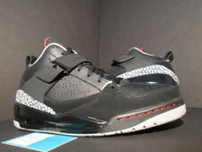 2009 Nike Air Jordan FLIGHT 45 III 3 BLACK FIRE RED CEMENT GREY 364756-061 OG 10