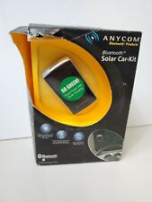 New! Anycom Solar - Hands Free Bluetooth Car Kit - Sck1( Packaging Has Wear)