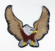 Grand écusson blouson moto AIGLE eagle aguila biker Patch Parche Toppa Aufnäher