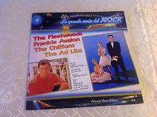 """LA GRANDE STORIA DEL ROCK 4 (LP) """"FLEETWOODS / AVALON/ CHIFFONS/ AD LIBS"""" [1981]"""