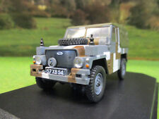 OXFORD 1/43 ARMY LANDROVER 1/2 TON LIGHTWEIGHT CANVAS TOP BERLIN SCHEME 43LRL004
