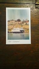 WASHINGTON STATE FERRIES PHOTO POST CARD PORT TOWNSEND WASHINGTON