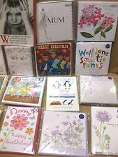 600 MIXED GREETING CARDS TOP QUALITY ALL SIZES SHAPES WHOLESALE JOB LOTS BARGAIN