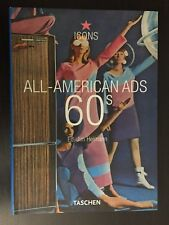 """All-American Ads of the 60s"" by Jim Heimann (2003,Paperback) ICONS TASCHEN sct9"