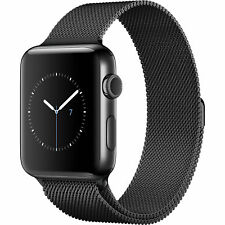Milanese Magnetic Loop Band Strap For Apple Watch Sport Series 3 2 1 Wrist Band