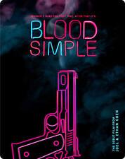 BLOOD SIMPLE - COEN BROTHERS - BLU RAY STEELBOOK