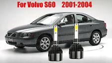 LED For Volvo S60 2001-2004 Headlight Kit H7 6000K White CREE Bulbs Low Beam