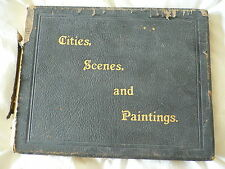 Cities, Scenes and Paintings.1894? John L. Stoddard.