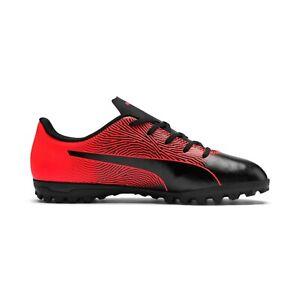 Puma spirit II Kids turf soccer shoes Black Red Many Sizes 10552702