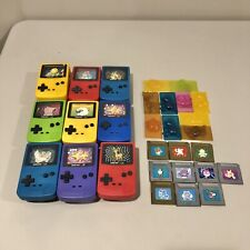 Burger King Pokemon Game Boy Color Gold Silver Vintage Toy Lot 29 Pieces (CT)