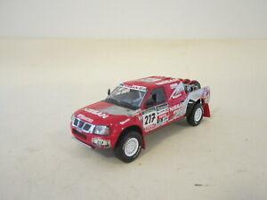 J Collection JC043 1:43 Nissan Navara Pick Up Paris Dakar Rally 2003 #217 NO BOX