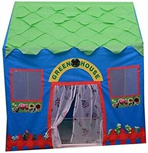 Tent House ,Water Proof Kids Play for 10 Year Old Girls and Boys (Green House)