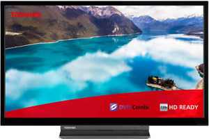 Toshiba 24WD3A63DB 24-Inch HD Ready Smart TV with Freeview Play and