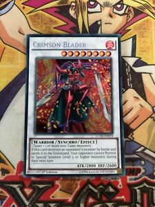 Crimson Blader lc5d-en074 1st Edition (VG+/NM) Secret Rare Yu-Gi-Oh!