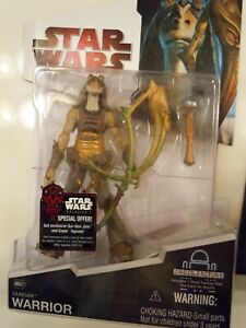 STAR WARS BD07 3.75 GUNGAN WARRIOR LEGACY COLLECTION DROID FACTORY L8-L9 2009