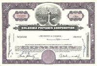 Columbia Pictures Corp - Stock Certificate
