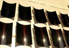Peinture carrosserie:0,5L base à vernir solvant Noir nacré rouge prêt à l'emploi