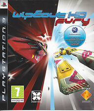 WIPEOUT HD FURY for Playstation 3 PS3 - with box & manual