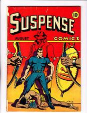 Suspense Comics  No.5   : 1944 :    : L.B.Cole Cover! :    : Scarce! :