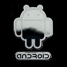 Android Androbot Metal sticker for Cell phone Smartphone mobile
