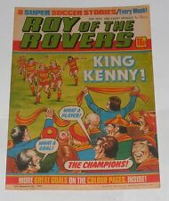 ROY OF THE ROVERS COMIC 29TH MAY 1982 MARK MCGHEE OF ABERDEEN