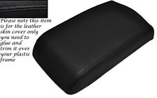 BLACK STITCHING LEATHER ARMREST SKIN COVER FITS MITSUBISHI GTO 3000GT 1992-1999