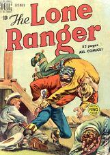 The Lone Ranger #18 Dell 5.0 VG/FN