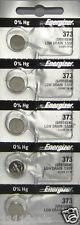 10 Energizer 373 Silver Oxide Batteries-Sr916Sw
