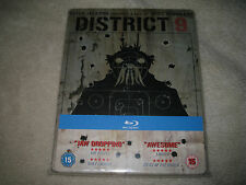 District 9 Blu-ray Steelbook B.New Sealed UK version