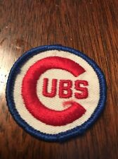 Vintage 1970s MLB patch of Chicago Cubs - Awesome!