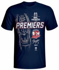 Sydney Roosters 2018 Premiers Tee Shirt Adults Small - 3XL & Kids 8 - 12 NRL ISC